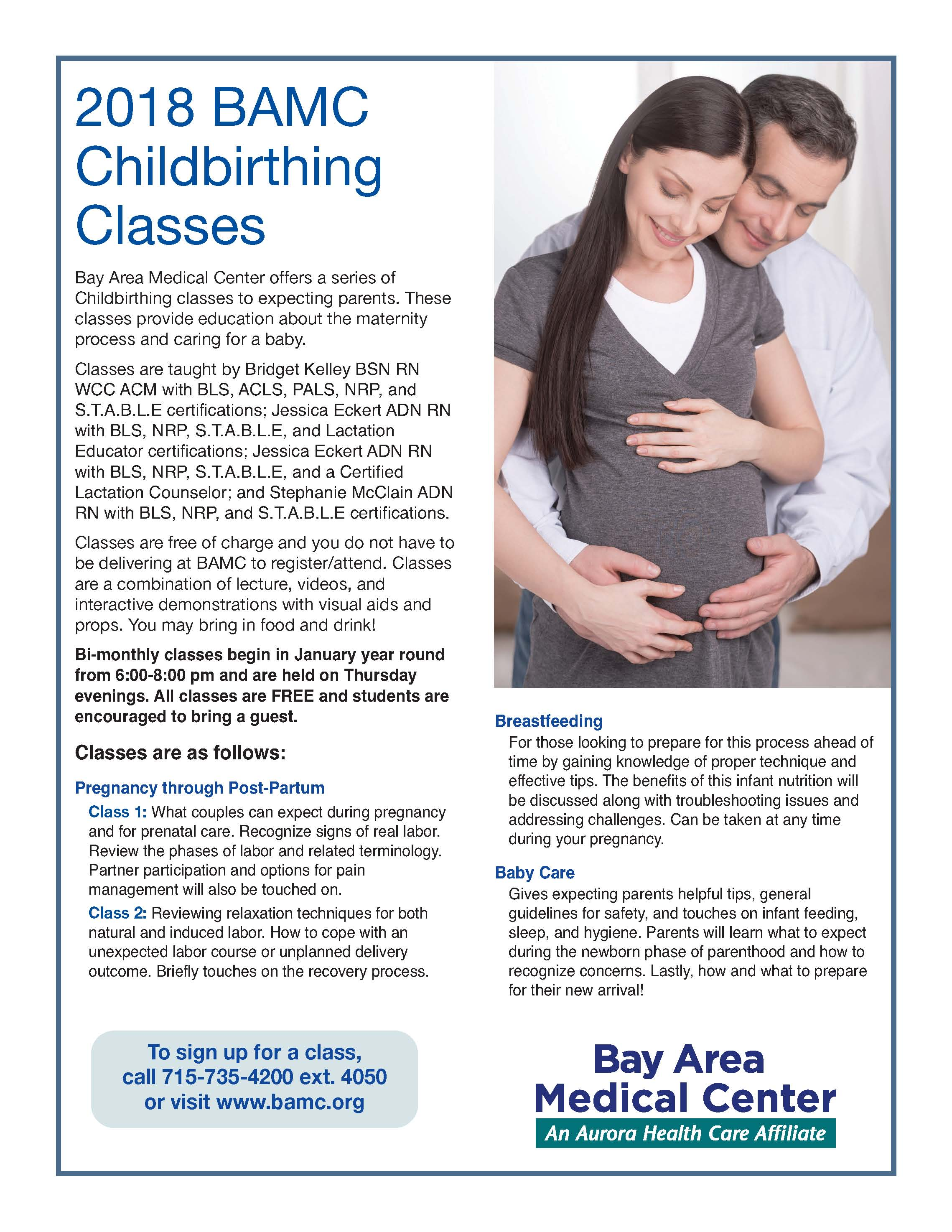 Baby Care Bay Area Medical Center